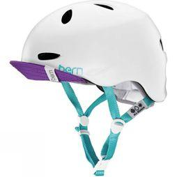 Bern Women's Berkeley Helmet Satin White Multi