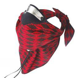 Respro Bandit Scarf/Pollution Mask Red Diamond