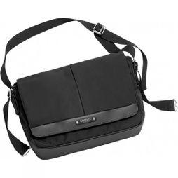 Brooks England Strand Messenger Bag Black
