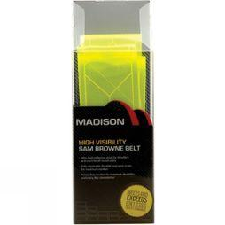 Madison Sam Browne Belt Yellow