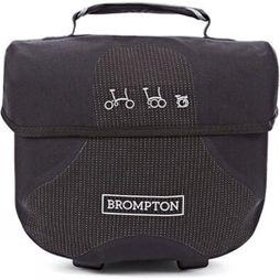 Brompton Mini O Bag Black Reflective