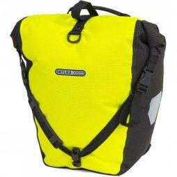 Ortlieb High Visibility Single Back Roller  Yellow