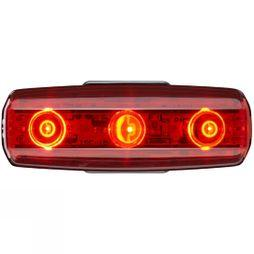 Cateye Rapid Micro USB Rear Light Black