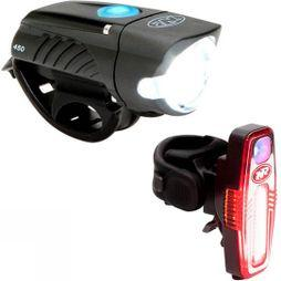 Niteride  Swift 450 and Sabre 80 LED Light Combo No Colour
