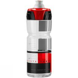 Elite Crystal Ombra Bottle 750ml Clear Red