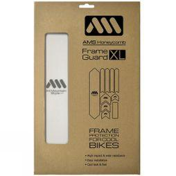 All Mountain Style AMS Honeycomb Frame Guard XL Clear