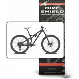 Bike Shield Cable Shield - 5 Pieces Matte
