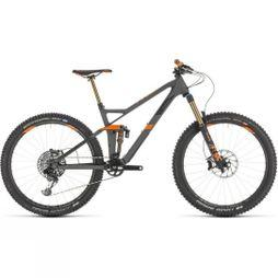 Cube Stereo 140 HPC TM 27.5 2019 Grey  Orange