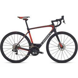 Specialized S-Works Roubaix eTap 2018 Carbon/Rocket Red/Kool Silver