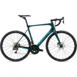 Whyte Wessex Di2 2020 Forest Green with Reef/Sky