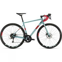 Cube Womens Axial Pro 2020 Grey Blue/Coral