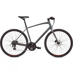 Specialized Sirrus Alloy Disc 2019 Charcoal/Candy Red/Black Reflective