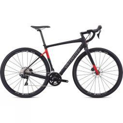 Specialized Diverge Sport 2019 Satin Tarmac Black/Flo Red
