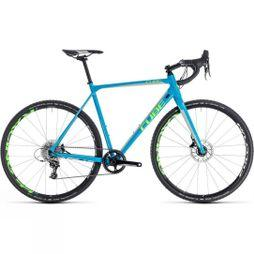 Cube Ex-Demo/Ex-Display Cross Race SL 2018 Blue/Green