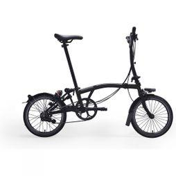 Brompton M6L Black Edition Premium 2019 Raw Lacquer/Black Edition