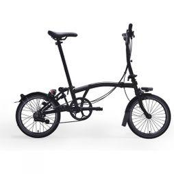 Brompton S6L Black Edition Premium 2019 Raw Lacquer/Black Edition