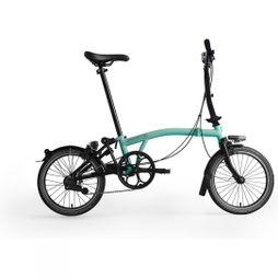 Brompton M6L Black Edition 2019 Gloss Turkish Green/Black Edition