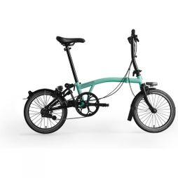Brompton S2L Black Edition 2019 Gloss Turkish Green/Black Edition