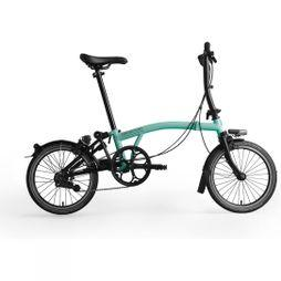 Brompton S6L Black Edition 2019 Gloss Turkish Green/Black Edition