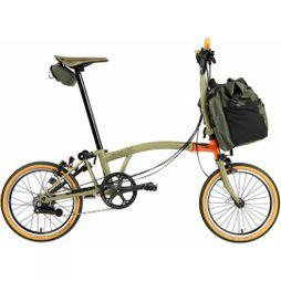 Brompton M6L Explore Edition 2020  Forest Green/Explore Orange