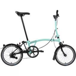 Brompton M6L Black Edition Superlight 2020 Turkish Green/Black Edition