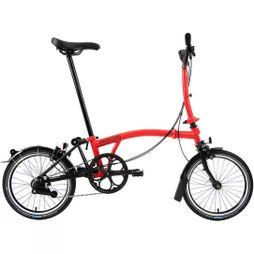 Brompton M6L Black Edition Superlight 2020 Gloss Rocket Red/Black Edition