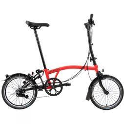 Brompton H6L Black Edition 2020 Gloss Rocket Red/Black Edition