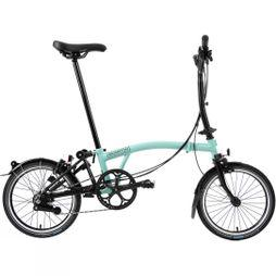 Brompton M6L Black Edition 2020 Turkish Green/Black Edition