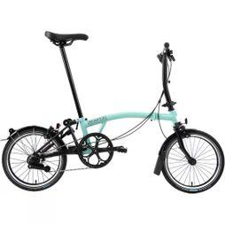 Brompton S2L Black Edition 2020 Turkish Green/Black Edition