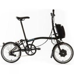 Brompton M6L Electric 2019 with City Bag  Gloss Black