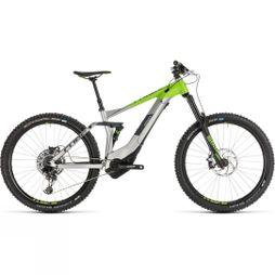 Cube Stereo Hybrid 160 Race 500 27.5 2019 Grey/Green
