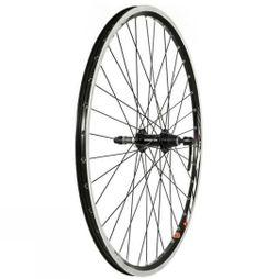 "Raleigh Wheel Rear QR Screw on 26"" Black"