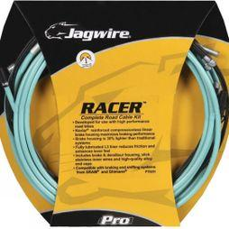 Jagwire Road Pro Gear and Brake Cable Set  Green