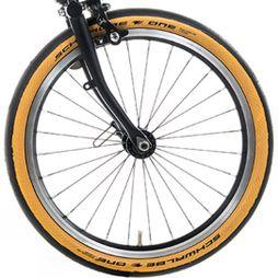 Brompton Schwalbe One Tan Wall Tyre 16 x 1.35 Tan Wall