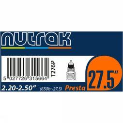 "nutrak 27.5"" or 650B x 2.2 - 2.5 Presta Inner Tube Black"