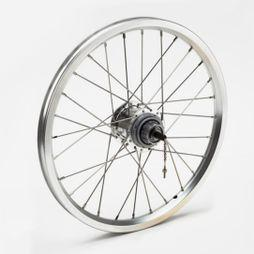 Brompton 3 Speed Rear Wheel (6 Speed Compatible) Silver