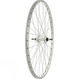 Raleigh 26x1 3/8 Rear Wheel 135mm Silver