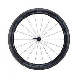 Zipp 404 NSW Carbon Clincher Front 18 spoke Impress Graphics Black