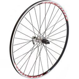 Raleigh 700c Cyclocross Disc Front Wheel w/ Mach1 Omega Rim 6 Bolt QR  Black