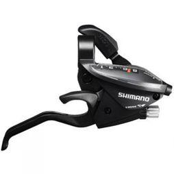 Shimano Altus EZ Fire Plus 8 Speed Black