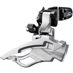 Shimano FD-T611 Deore 10-Speed Multi-fit Front Derailleur Silver