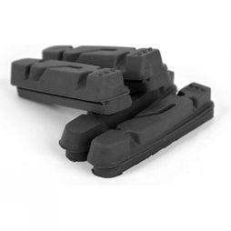 Widget Premium Caliper Inserts for Shimano/SRAM (2 Pairs) Black