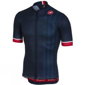 Mens Podio Doppio Jersey Full Zip