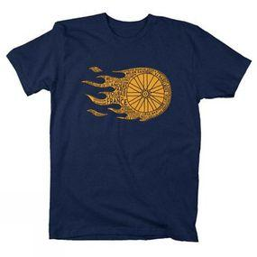 Flaming Wheel T-Shirt