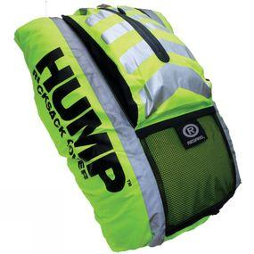 Hi-Viz Hump Waterproof Cover With External Pocket