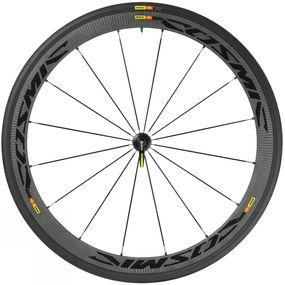 Cosmic Carbon 40 Clincher Front