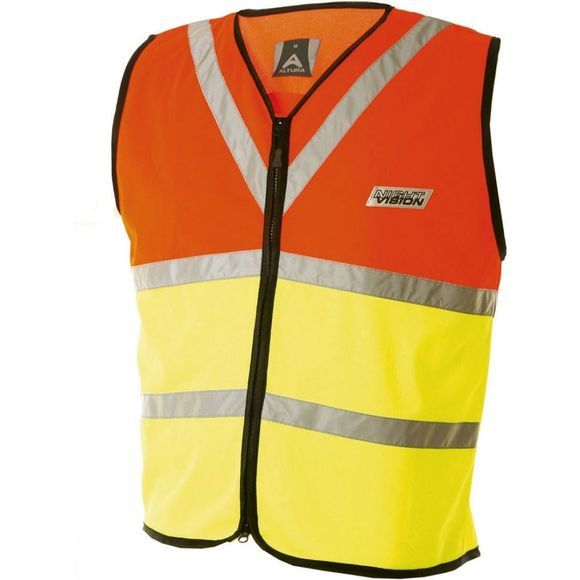 Altura Mens Night Vision Vest Orange/Yellow