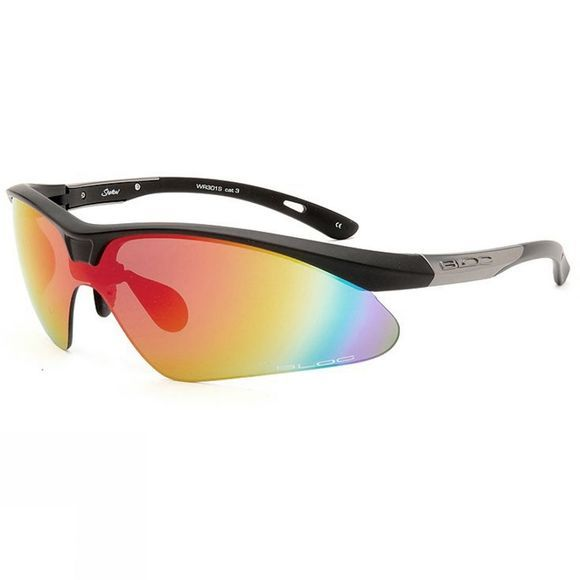 Bloc Shadow Sunglasses Black          /Red