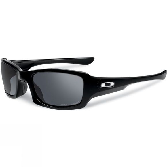 Oakley Fives Squared - Polished Black With Grey Lens Polished Black/Black Iridium Polarized