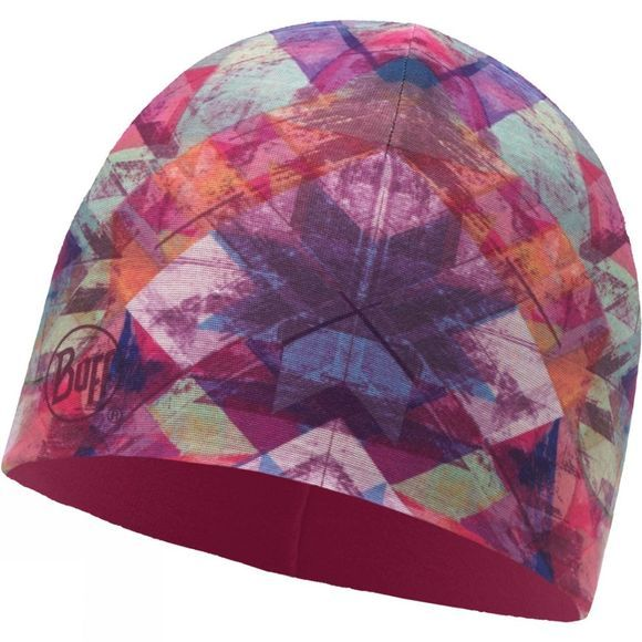 Buff Microfibre & Polar Hat Patterned Star Flake Multi